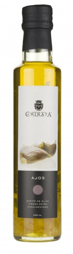 Extra virgin olive oil with garlic La Chinata image #1