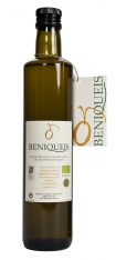 Extra virgin olive oil organic beniqueis Ribes-Oli