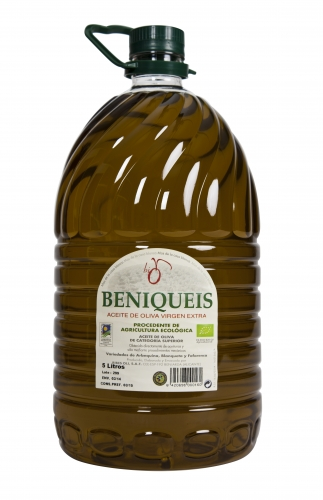 Extra virgin olive oil organic beniqueis Ribes-Oli image #1