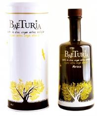 Extra virgin olive oil organic morisca Baeturia + case