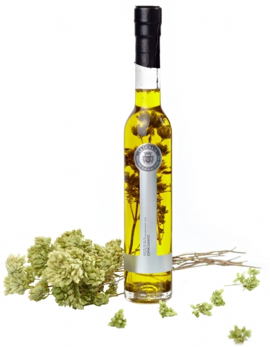 Extra virgin olive oil with oregano La Chinata image #1