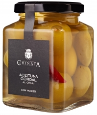 Gordal olives with chili La Chinata
