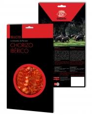 Sliced acorn-fed iberico chorizo Revisan Ibéricos