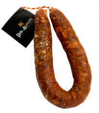 Superior quality natural acorn-fed ibérico chorizo sausage Don Agustín