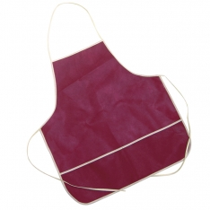 Ham carving apron burgundy Steelblade