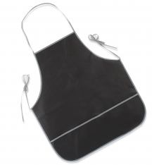 Ham carving apron black Steelblade