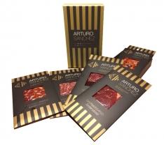 Sliced iberico cured meats Arturo Sánchez - premium variety box