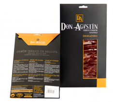 Ibérico ham acorn-fed Don Agustín hand-cut sliced