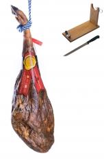 Ibérico ham acorn-fed centenario Sánchez Bermejo + ham stand + knife
