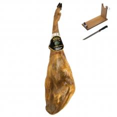 Iberico ham acorn-fed Dehesa Casablanca + ham holder + knife