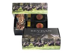 Iberico ham acorn-fed Revisan sliced - premium box