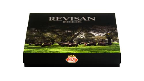 Iberico ham grain-fed Revisan hand-cut - premium box image #4