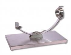 Ham Stand Sliding swivel stainless Steelblade - Spanish Jamonero ham holder