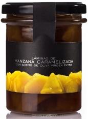 Laminated caramelized apple La Chinata