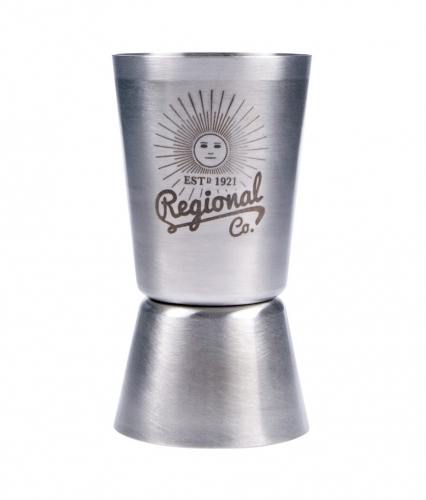 Cocktail Measure Cup - Bar Craft Stainless Steel Professional Jigger Measuring Cup image #1