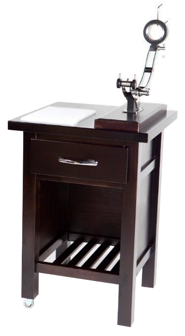 Ham-carving table 600x600mm with Elite ham stand