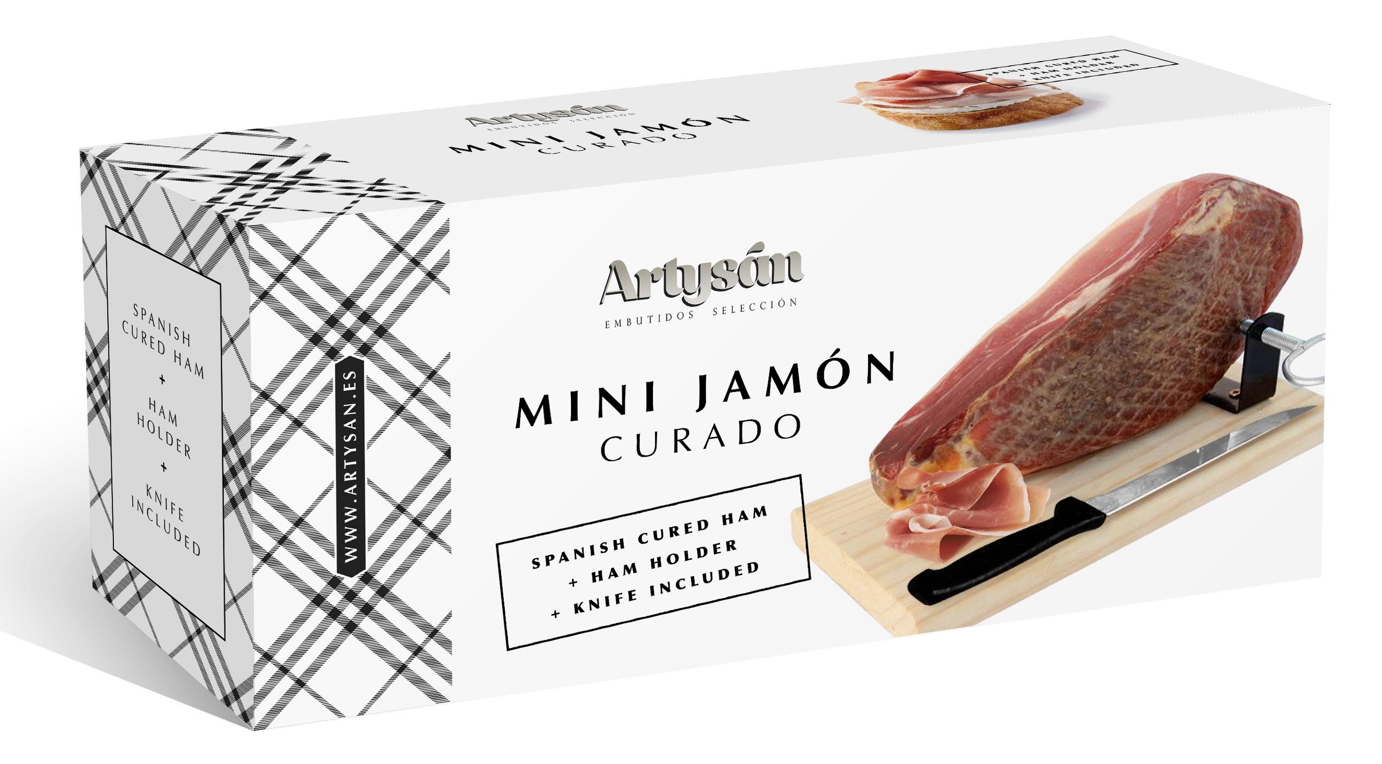 Mini Cured Ham Artys 225 N Ham Stand Knife 1 Kg