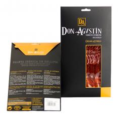 Iberico ham (shoulder) acorn-fed Don Agustín hand-cut sliced