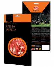 Iberico ham (shoulder) acorn-fed Revisan sliced