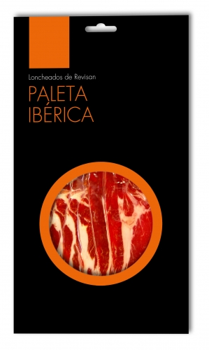 Iberico ham (shoulder) grass-fed Revisan sliced image #1