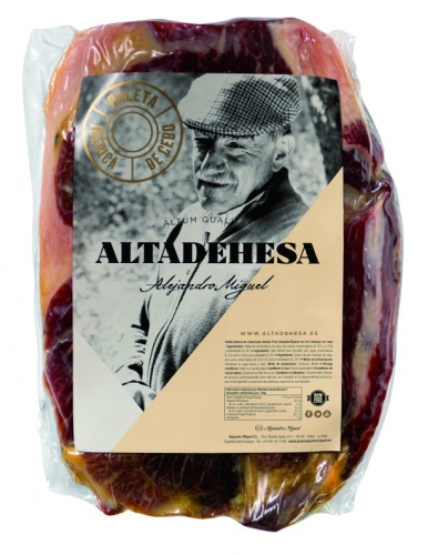 Iberico boneless grain-fed shoulder ham Altadehesa image #1