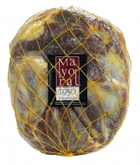 Serrano ham (shoulder) mountain reserve 2 halves Mayoral Boneless
