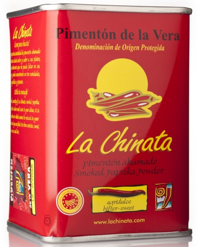 Sweet and sour smoked paprika powder La Chinata image #1