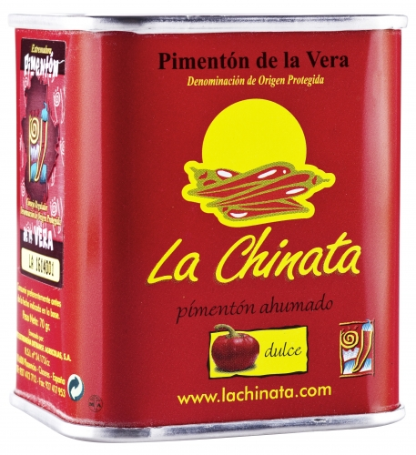 Sweet smoked paprika powder La Chinata image #1