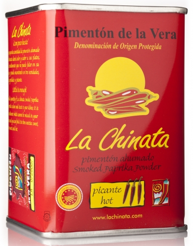 Spicy smoked paprika powder La Chinata image #1
