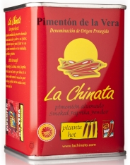 Spicy smoked paprika powder La Chinata