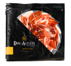 Iberico ham acorn-fed platter Don Agustín hand-cut sliced