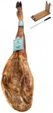 Ibérico ham 100% acorn-fed Sánchez Romero Carvajal + ham stand + knife