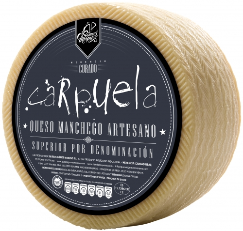 Small cured DO Manchego cheese Carpuela image #1