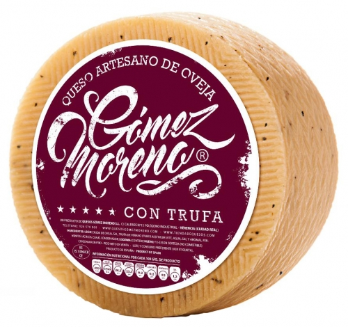 Large Sheep Milk Cheese with Truffle Gómez Moreno image #1