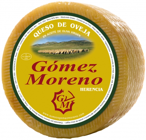 Small cheese in olive oil Gómez Moreno image #1