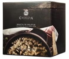 Mushroom risotto La Chinata