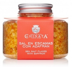 Saffron salt flakes La Chinata