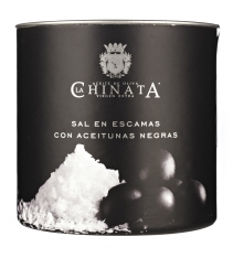 Olive sea salt flakes La Chinata