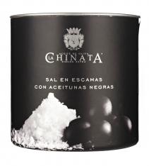 Olive sea salt flakes La Chinata