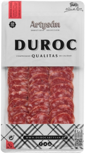 Family tradition sliced serrano duroc salchichón Artysán image #1