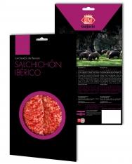 Sliced grass-fed iberico salchichón Revisan Ibéricos