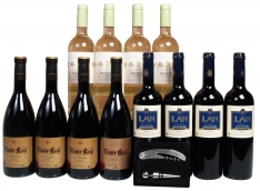 Special christmas wine cellar selection