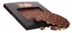 Chocolate cake with almonds Turrones Primitivo