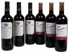 Christmas special DO Rioja wines selection