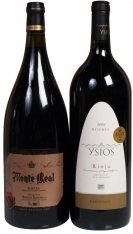 Christmas special magnum wines