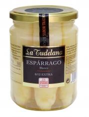 White asparagus tips DO Navarra La Tudelana